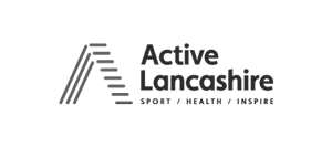 Image shows the Active Lancashire logo.