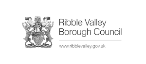 Image shows the Ribble Valley Borough Council logo.